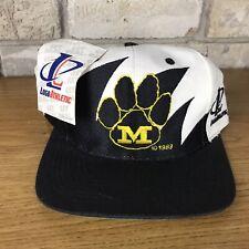 RARE Vintage Mizzou Tigers Logo Athletic Sharktooth Hat Cap Snapback Vtg New NWT