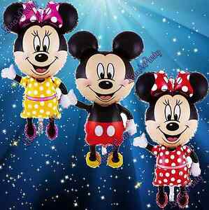Minnie Mickey Mouse Baby Shower Balloon Balloons boy girl decoration favors red
