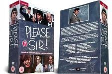 PLEASE SIR the complete series 1 to 4 box set + movie. John Alderton. New DVD.