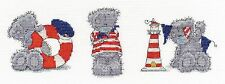 "DMC  Tatty Teddy Cross Stitch Kit BL11077/72 ""Three Little Sailors"""