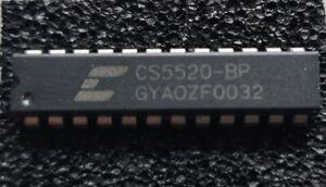 CS5520-BP DIP 20-BIT Bridge Transducer A/D Converter *Cirrus Logic (Crystal)*