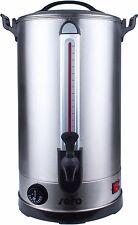 Glüweintopf Glühweinkessel Heißwasserspender Wasserkocher mit Zapfhahn 30 Liter