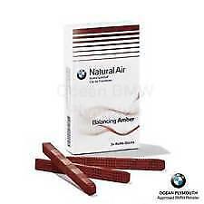 BMW Genuine Interior Freshener Fragrance Refill Kit Balancing Amber 83122285676