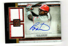 2020 TOPPS MUSEUM RYAN HOWARD PHILLIES SIGNATURE SWATCHES DUAL JERSEY AUTO 36/50