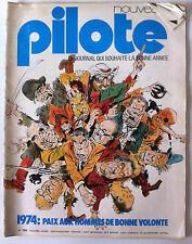 Pilote n°739 du 01/1974; Paix aux hommes de bonne volonté