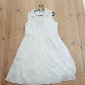 Fat Face White Summer Dress