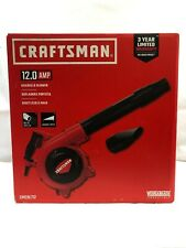Craftsman CMEBL712 Handheld Blower 410CFM 12.0 AMP Corded Variable Speed