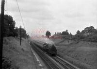 PHOTO  BR LOCO 73012 AT TUFFLEY JCT ON 12TH AUG 1959
