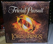 Lord Of The Rings Movie Trilogy Collectors Edition Trivial Pursuit Used