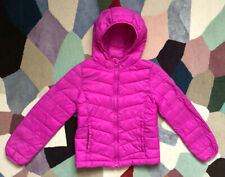 Pink Girls GAP Kids Hooded Coat, 10-11 Years (137-142 cm), Very Good Condition
