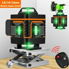 16 Lines Rotary Laser Level Green Laser Self Leveling Measuring Instrument Tool