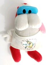 "Stimpy Plush Stuffed Toy Dakin Nickelodeon 1992 8"" VTG Muddy Mudskipper Shirt"
