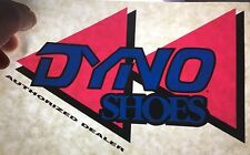 GT / Dyno Shoes Bmx Sticker - Reversable Window Dealer Logo