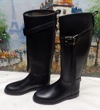 Burberry Rubber Riding Boot - Size EU 36 / US 5.5 - $325