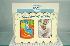 """GOODNIGHT MOON PHOTO FRAME PRECIOUS MOMENTS~4"""" BY 3""""~IN GIFT BOX~VERY CUTE!"""