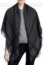 """GUCCI gray SURVIE Monogram GG Diamante Giant 55"""" PASHMINA shawl scarf NWT Authen"""