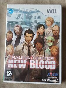 Nintendo Wii game - Trauma Center: New Blood + instructions
