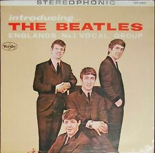 THE BEATLES  Introducing with P.S. I Love You On Veejay Still SEALED LP