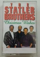 The Statler Brothers Christmas Wishes Cassette Tape 1994 PolyGram Records