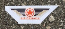 """Vintage Air Canada Wings Unused Sticker Decal Airline 2.5""""x 1"""""""