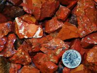 500 Carat Lots of Brecciated Jasper Rough - Plus a FREE Faceted Gemstone