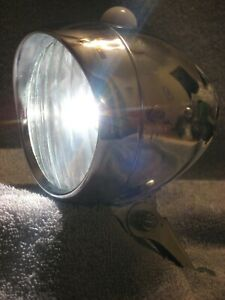 VINTAGE ENWELL SCHWINN LIGHT 2-BATTERY BICYCLE BIKE BALL HEADLIGHT