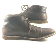 Ugg Australia Chocolate Leather Leighton Chukka Boots Mens Size US 14M
