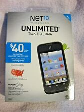 NET 10 HUAWEI GLORY NO CONTRACT  BRAND NEW AND SEALED