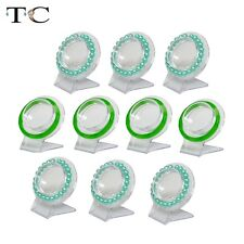 20pcs Plastic Jewelry Display Bangle Stand Organizer Acrylic Bracelet Holder