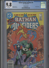 BATMAN AND THE OUTSIDERS #9 MT 9.8 CGC HIGHEST 1 OF 1 CANADIAN PRICE VARIANT