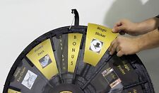 31in Prize Wheel, case, floor/table stand, and insert your paper graphics & logo