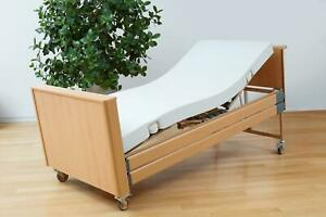 Pflegebett-Matratze Basic-fit Burmeier, 90 x 200 cm, PU-Bezug