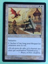 MTG MAGIC Carte ARCHER A L'ARC LONG Longbow Ext. VISIONS 1996