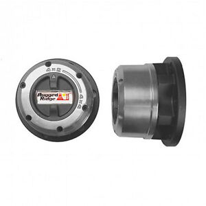 Manual Locking Hub Set for 1976 - 2004 Chevy, Dodge, and Ford trucks.