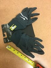 Nike Mens Sphere Running Gloves XL Heathered Gray Touchscreen Compatible NWT $25