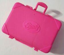 SINDY DOLL ACCESSORIES HOLIDAY SINDY 1992 PINK SUITCASE BAG TRAVEL FITS BARBIE