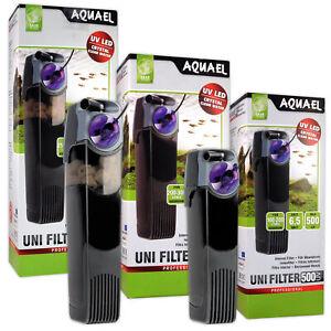 Aquael UniFilter UV Internal Filters - 500, 750, 1000 for Aquarium Fish Tank