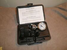 Pollard P671 Inspection Water Pressure Test Gauge with Case, 100lb. Dial