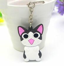 Creative Korea Cats Keyring Lucky Cat Keyring Keychain Key Ring Chain Gift 1pc