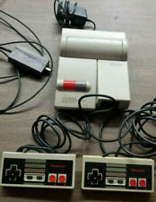 Nintendo NES-101 Top Loader Console Bundle - 2 Controllers & Video RF Cable