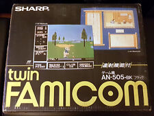 Sharp TWIN FAMICOM Console + 1 Game