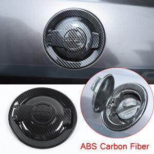 For Dodge Challenger 2009-2020 Carbon Fiber Fuel Tank Cover Door Gas Filler Cap