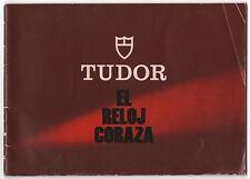 Tudor Coraza LIBRETTO VINTAGE 1981 9450 9240 9421 9420 76100 9440 15000 SPAGNOLO