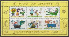Niederlande 2000 ** Bl.67 Kinder Children Abenteuer Adventure Dragon  [st2820]