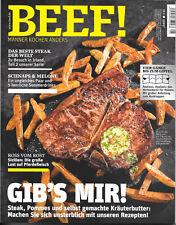 BEEF! Gib's mir! Männer kochen anders! Nr. 41 Ausgabe 5/2017 Irland Steak T-Bone