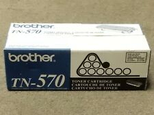 Brother TN-570 TN570 Black Hi Yield Toner Cartridge HL-5140 Genuine New Seal Box