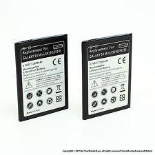 2 x 2800mAh Battery for Samsung Galaxy S4 IV Mini i9195 i9190 i9192 B500