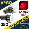 2 x 380 ROJO 19 LED freno Luz de la cola del Bombillas 1157 BAY15D P21 / 5w