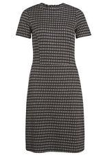 Kurzarm Damenkleider mit Rundhals-Ausschnitt aus Baumwolle