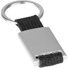 Schlüsselanhänger (SONDERPREIS) Aluminium mit schwarzem Textilband incl. Gravur!